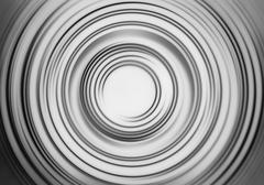 Black and white motion blur teleport swirl background Stock Illustration