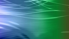 Flowing Blue Green looping backdrop smooth lines Stock Footage