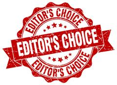 Editor's choice stamp. sign. seal Stock Illustration