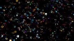 Glittering Stars in Flight HD Pro Stock Footage