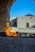 Fire temple, Baku, Azerbaijan Stock Photos