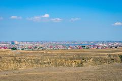 Suburbs of Baku, Azerbaijan Stock Photos