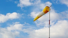Windsock Time-lapse Stock Footage