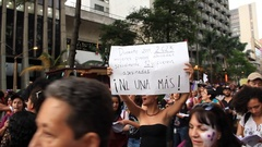 March Whores Women Protest Arkistovideo