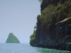 Beautiful Deserted Islands in the middle of Pacific ocean. Stock Footage