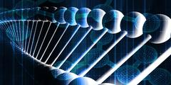 DNA Helix Abstract Background Stock Illustration