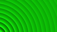 Deco Green Elegant Concentric Circles Abstract Motion Background Loop Slow 03 Stock Footage