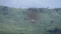F18 Flying Toward Camera Stock Footage