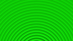 Deco Green Elegant Concentric Circles Abstract Motion Background Loop Slow 24 Stock Footage