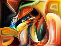 Synergies of Spirit Stock Illustration