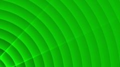 Deco Green Elegant Concentric Circles Abstract Motion Background Loop Slow 07 Stock Footage