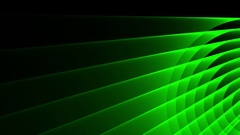 Deco Green Elegant Concentric Circles Abstract Motion Background Loop Slow 19 Stock Footage