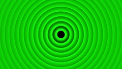 Deco Green Elegant Concentric Circles Abstract Motion Background Loop Slow 23 Stock Footage