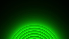 Deco Green Elegant Concentric Circles Abstract Motion Background Loop Slow 12 Stock Footage