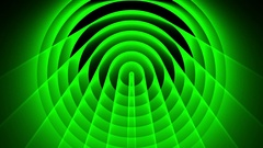 Deco Green Elegant Concentric Circles Abstract Motion Background Loop Slow 15 Stock Footage