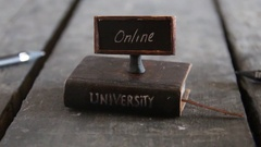 University online courses Stock Footage