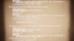 Source code 8mm film Stock Footage