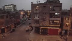 Slums poor neighborhood america latina. Stock Footage