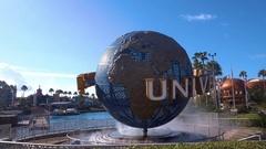 Universal Studios, World in Orlando park, Florida Stock Footage