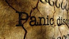 Panic disorder grunge concept Stock Footage