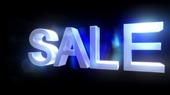 Sale text rotate shopping commerce retail sales loop 4k Stock Footage