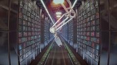 Server Room futuristic sci fi Stock Footage
