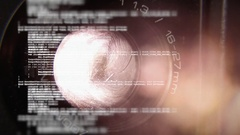 Source code lens projector tilt Stock Footage