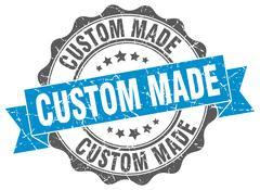 Custom made stamp. sign. seal Stock Illustration