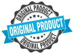 Original product stamp. sign. seal Stock Illustration