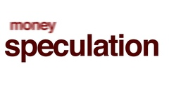 Speculation animated word cloud. Stock Footage