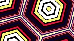 Shape Animation Rectangles Mosaic Kaleidoscope Transition On Alpha Channel Stock Footage