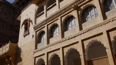 Mehrangarh Fort in Jodhpur, Rajasthan, India Stock Footage