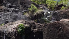 Cedar Creek Falls, Waterfall Stock Footage