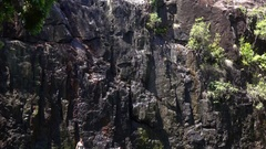Cedar Creek Falls, Rock Stock Footage