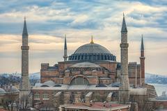 Hagia Sophia Elevated View Kuvituskuvat