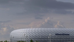 Munich Allianz Arena Stock Footage