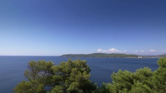 Beautiful coastline of Sardinia in UHD.  Stock Footage