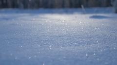 Winter background landscape nature shine snow sunlight beautiful landscape Stock Footage