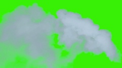 A beautiful smoke wisp. These are great for special effects and motion graphics. Stock Footage