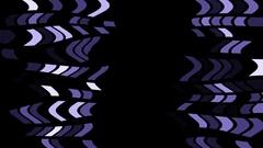 Passing Fluid Blocks Purple Visual Stock Footage