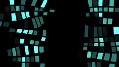 Liquid Squares Motion Vj Background Stock Footage