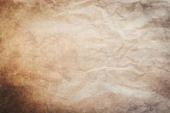 Grunge old paper and dirty vintage background and texture with space. Stock Photos