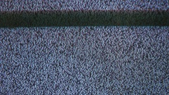 Television signal tv noise screen with static flicker caused a by bad reception Stock Footage