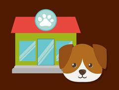 Pet icon image Stock Illustration