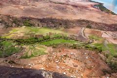 View of the earth landscape, Madagascar coast Kuvituskuvat