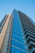 Glass skyscraper office building Kuvituskuvat