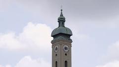 Church of St. Peter Munich Stock Footage
