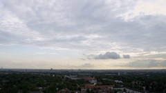 Munich - München Panorama in 4k Stock Footage