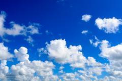 Abstract sky cloud Stock Photos