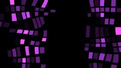 Squares Art Background Vj Loop Stock Footage